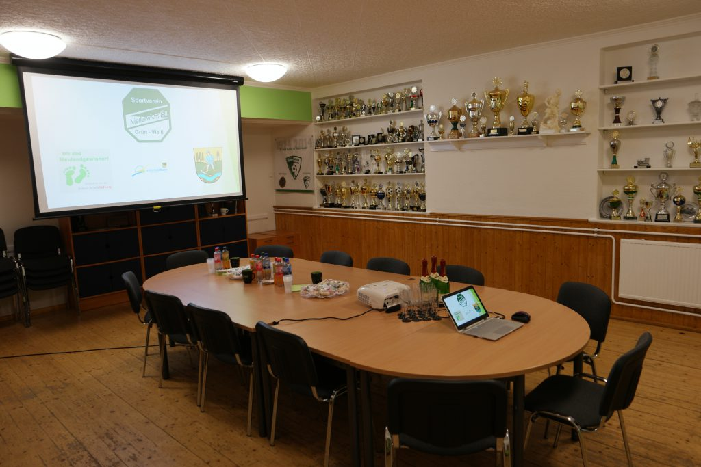 renoviertes Vereinszimmer
