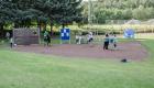 Torwandschießen beim Fußball